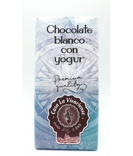 CHOCOLATE BLANCO CON YOGUR CASA LA VIVARIENSE